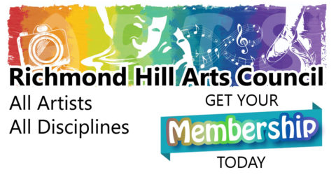 Get Your Richmond Hill Arts Council Membership