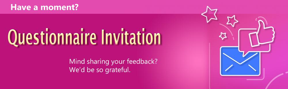Questionnaire Invite
