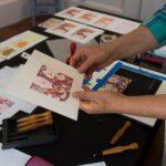 Reduction Linocut Printmaking - Beginners
